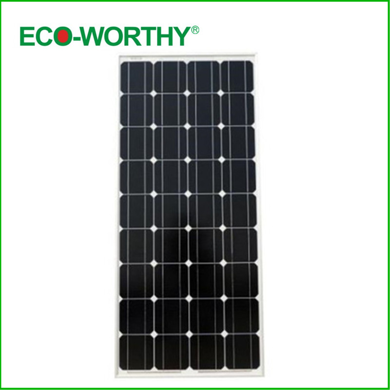New USA Stock 100W Mono Monocrystalline Photovoltaic PV Solar Panel Off Grid for 12V Battery RV Boat Camp Free Shipping(China (Mainland))