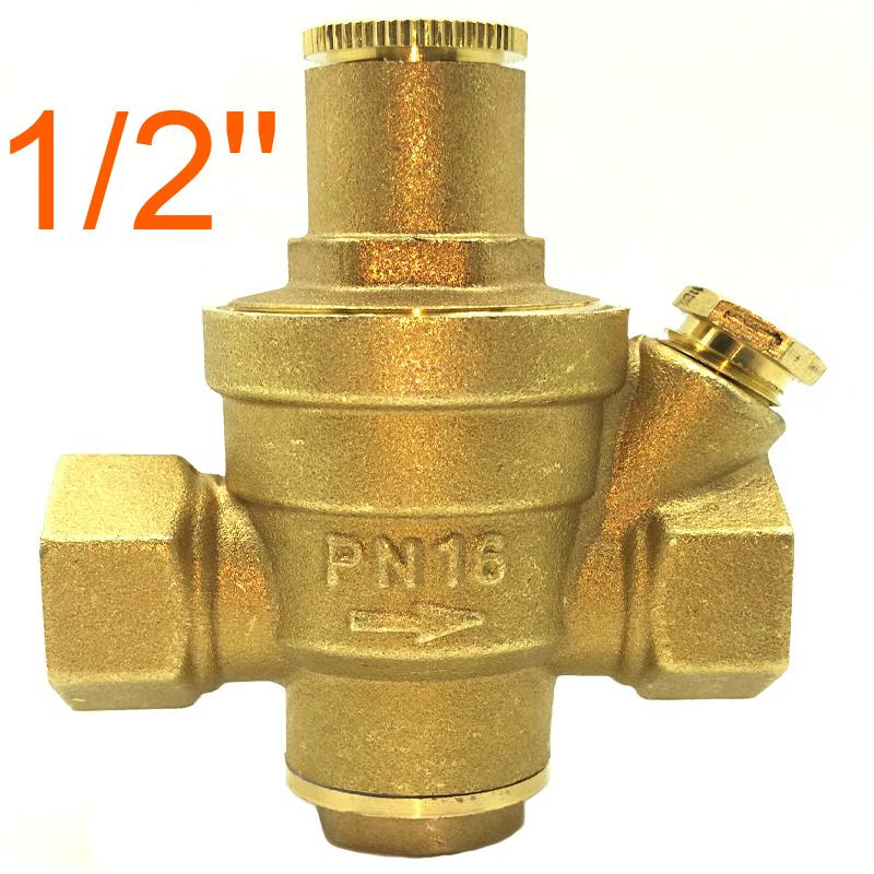 1 2 brass dn15 water pressure regulator prv without. Black Bedroom Furniture Sets. Home Design Ideas