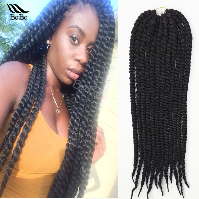 Crochet Braids Pack : /pack Havana mambo twist crochet braids hair faux locs crochet ...