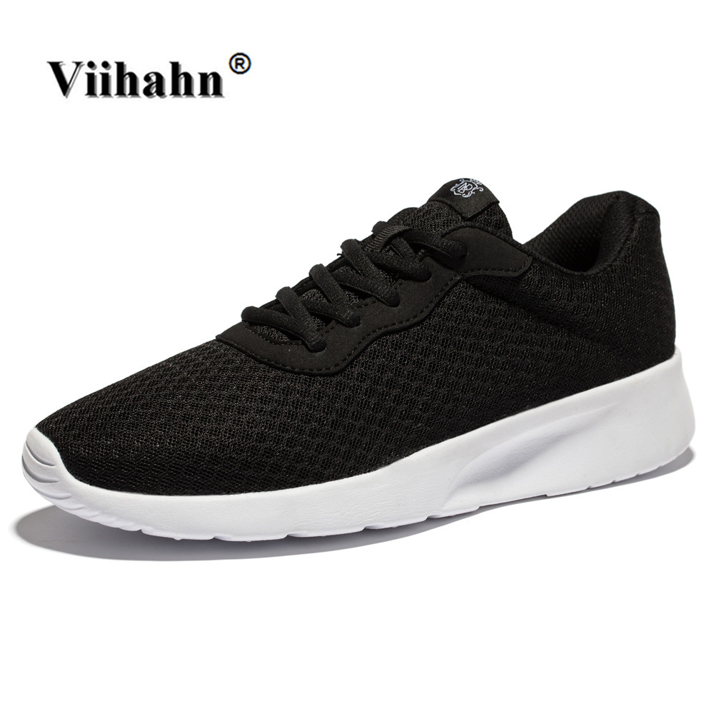 Viihahn Mens Running Shoes Spring And Summer Breathable Mesh Lace Up Sneakers Outdoor Walking Shoes Athletic Sport Shoes(China (Mainland))
