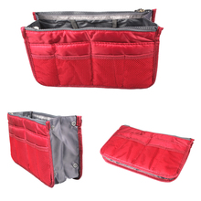 6 color Multifunction Zipper Thicken Storage Bag Case Holder Portable Wash Bag Travel Bag In Bag Cosmetic Organizer For Women(China (Mainland))