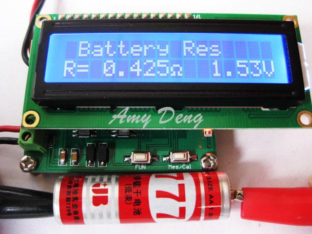 Здесь можно купить  Free shipping Battery internal resistance tester ESR capacitor online test proposed Free shipping Battery internal resistance tester ESR capacitor online test proposed Электронные компоненты и материалы