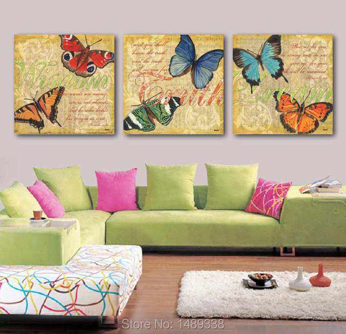 Buy framed high quality modern butterfly for Where to buy framed art