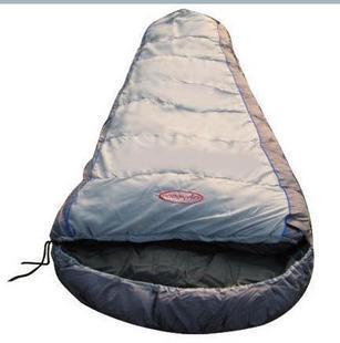 Free shipping! 8858 mummy-style sleeping bag cotton sleeping bag double layer sleeping bag camping ! outdoor sleeping bag(China (Mainland))