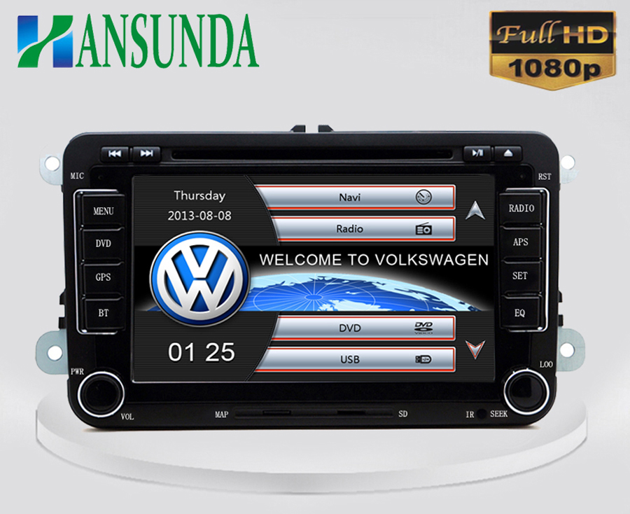 """2din 7""""screen Built-in canbus Car DVD with GPS Navigation for VW JETTA PASSAT/B6/CC GOLF 5/6 POLO Touran Tiguan Caddy SEAT(China (Mainland))"""