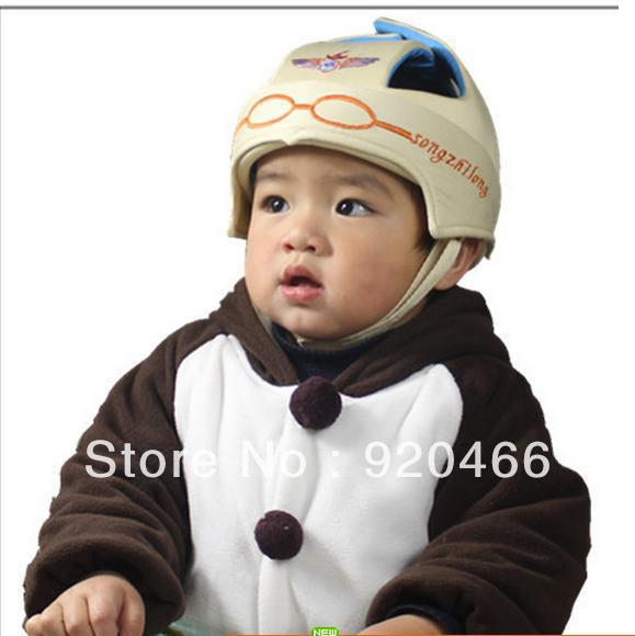 Toddler cap infant baby hat head protection cap anti-collision hat child safety cap helmet(China (Mainland))