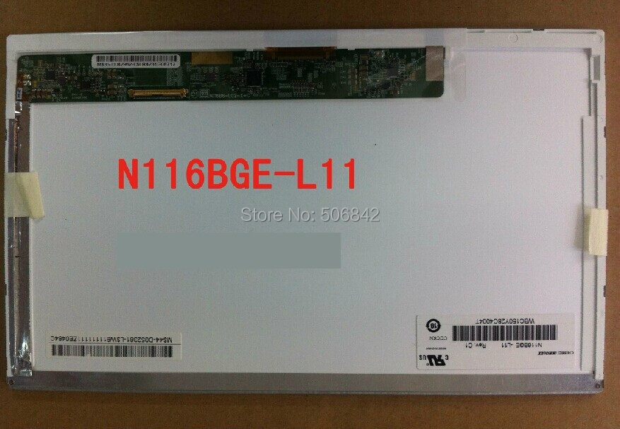 ЖК-экран для ноутбука N116BGE-L11 11.6 N116BGE /l11, 1366 * 768 with tpt260b1 g3335 1 2 715 l11 used disassemble