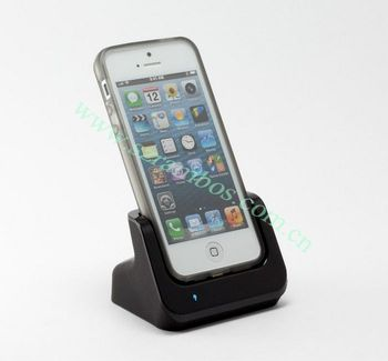 10pcs/lot Desk Dock USB Cradle Desktop Charger for iPhone 5 4 4S for iPad mini free shipping