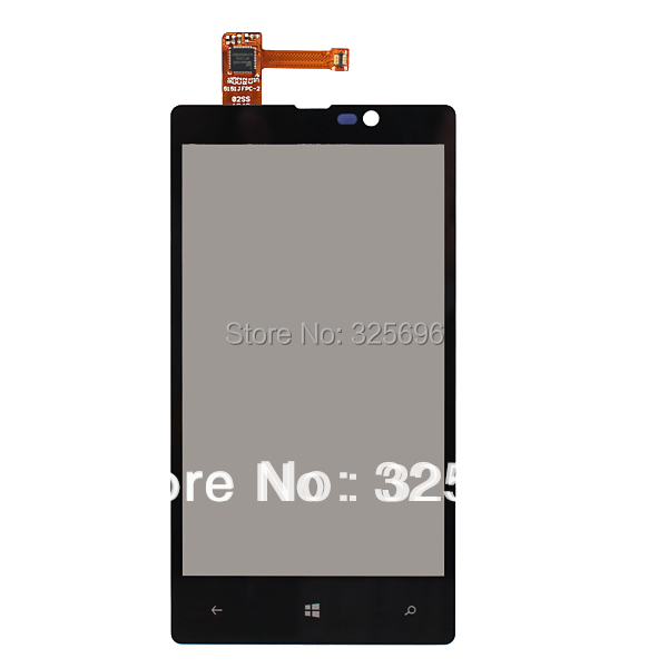Black for Nokia Lumia 820 N820 Touch Screen with Digitizer Replacement Free shipping !!!