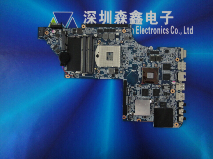New for HP DV7-6000 series 654481-001 laptop motherboard HM65 for intel cpu with 8 video chips non-integrated graphics card(China (Mainland))