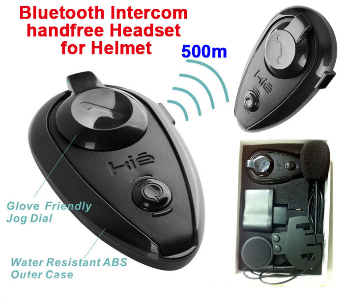 New Bluetooth Motorcycle Intercom Outdoor comunicador para capacete Motocross Racing Skiing Helmet SpeakerHeadset Headphone(China (Mainland))