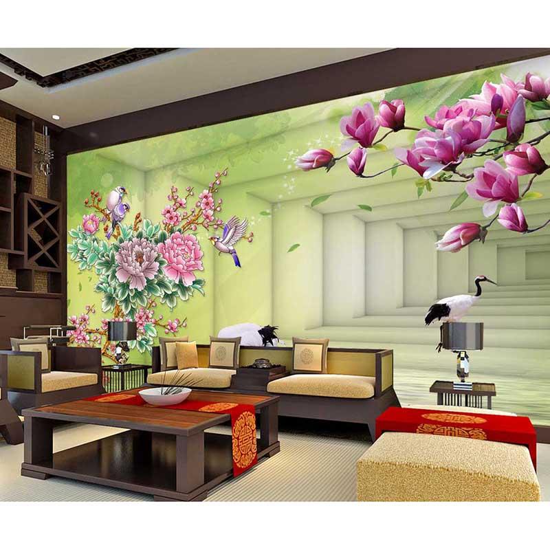 Achetez en gros int rieur d coration murale mat riel en for Decoration interieure papier peint