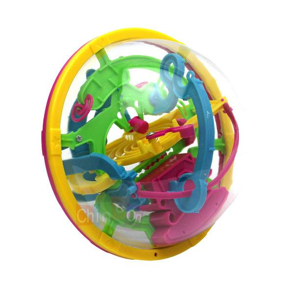 Puzzle Toys 3D Space Travel Intellect Ball 100 Barriers Balance Maze Game Kids IQ Trainer Games Toys(China (Mainland))