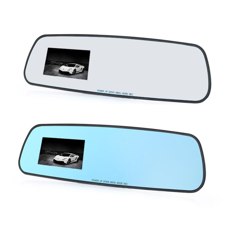 HD 2.8 inch driving recorder manufacturers selling scheme informed the rearview mirror wide-angle night vision recorder(China (Mainland))