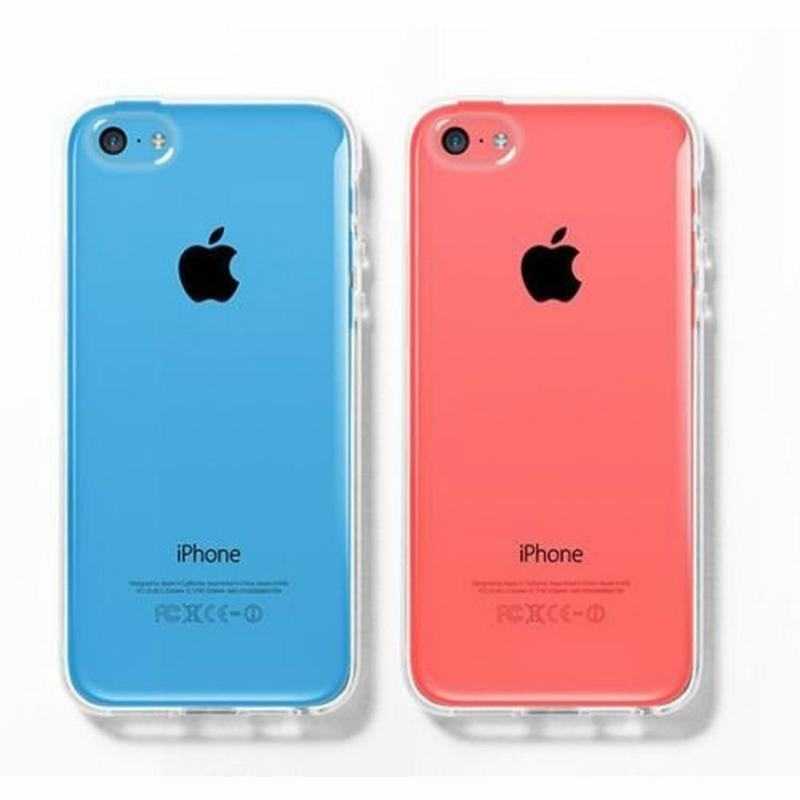 Fashion Luxury Clear Transparent Cystal Soft Protective Case for Apple ipone iPhone caso para 5C 5 C Cover for iphone 5C(China (Mainland))