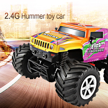 High Quality  Multicolor Hummer Toy Car 2.4G Four-wheels 4CH RC Car LCD Screen  Amazing Remote Control Cars Toys For Children(China (Mainland))