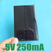 Hot Sale 5V 250mA Mini monocrystalline polycrystalline solar Panel small solar cell PV module for DIY