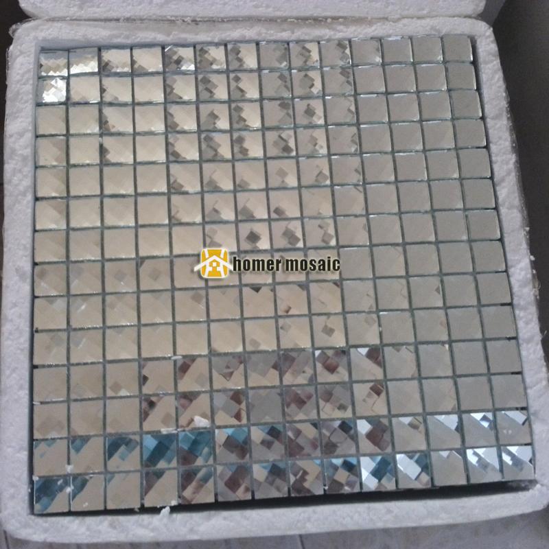 cara de diamante mosaico de color plata diamante azulejos para bao ducha azulejos backsplash de la cocina azulejo hmgm