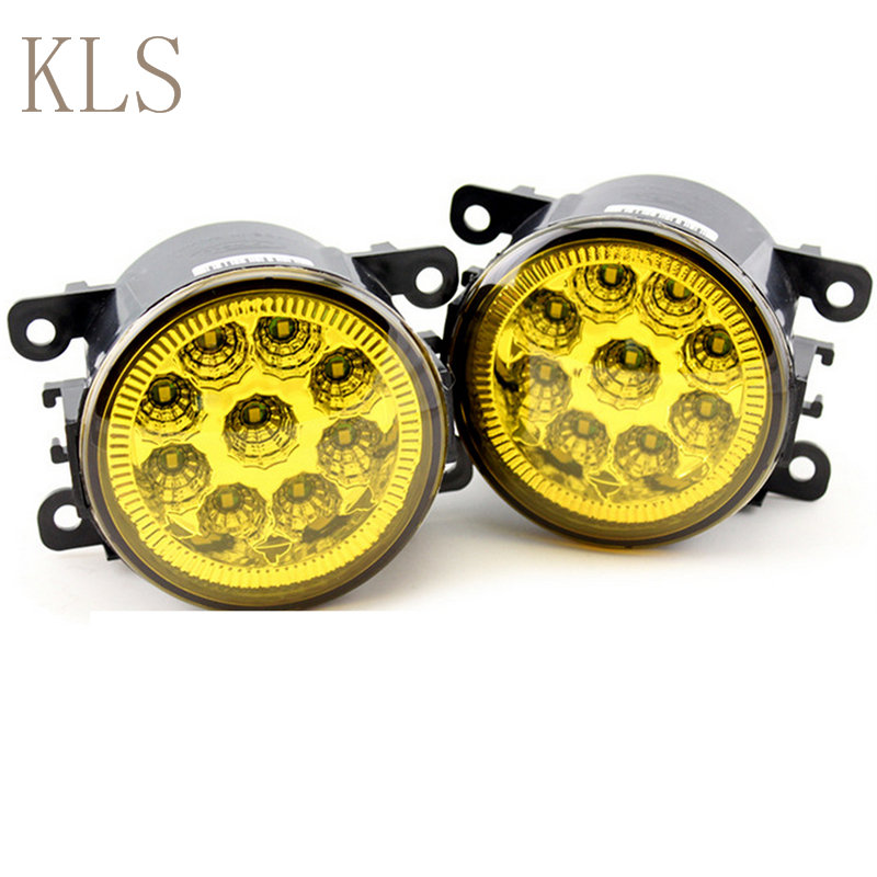 Former car styling Led Fog Lamps Modified yellow glass light For FORD Fusion Estate JU_  2002-2015<br><br>Aliexpress