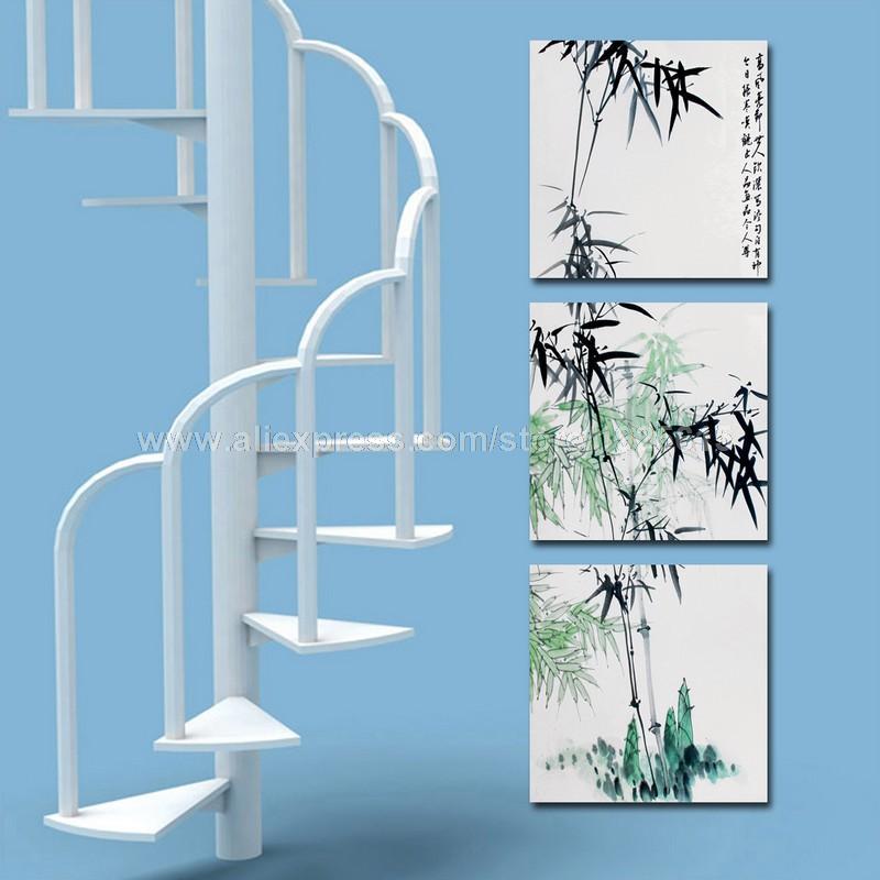 encre bambou reproduction impression sur toile peintures. Black Bedroom Furniture Sets. Home Design Ideas