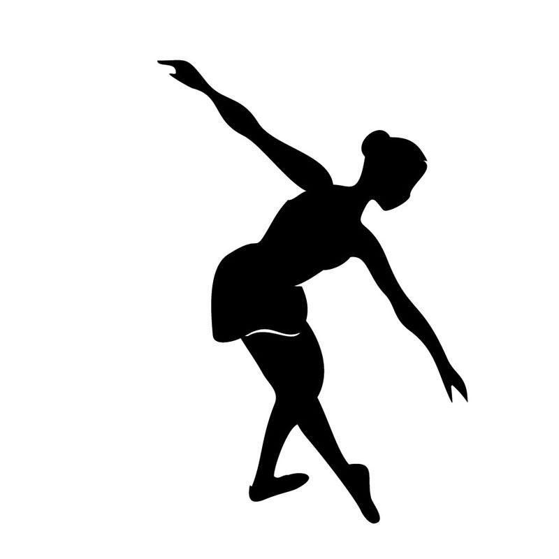 Achetez en gros danse silhouette stickers muraux en ligne - Nom de danse de salon ...