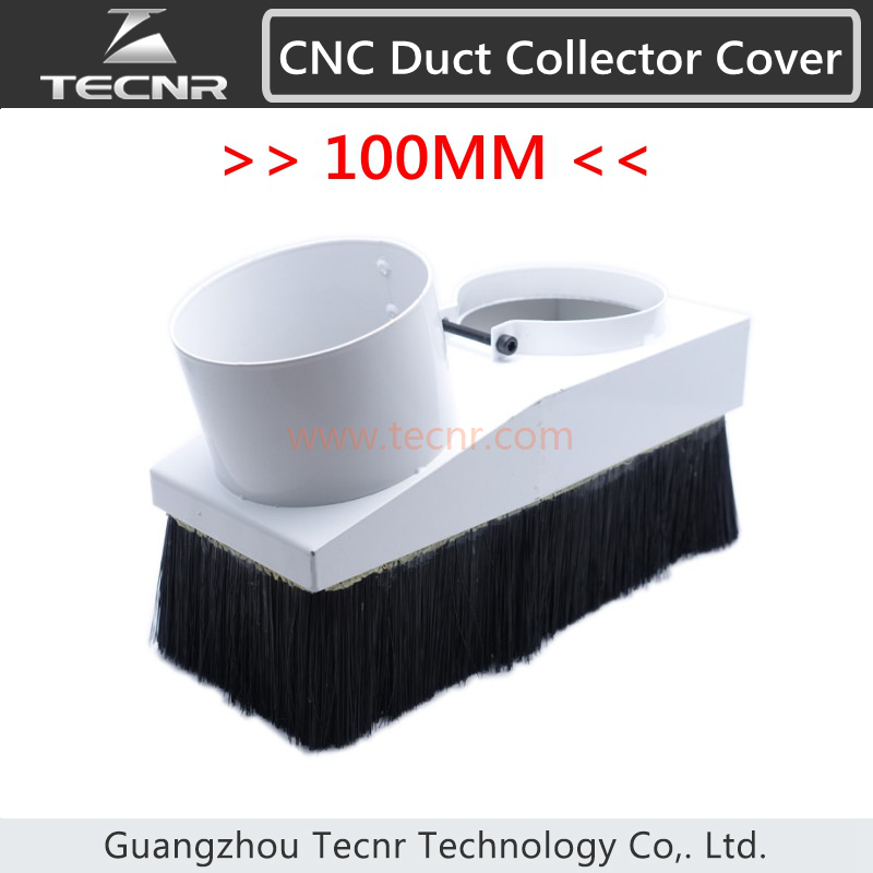 duct collector device 100mm dust collector cover suitable for 3kw water cool spindle(China (Mainland))