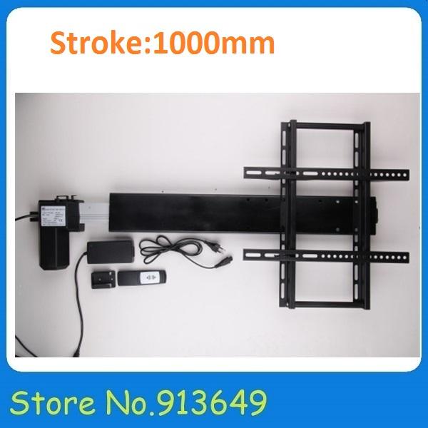 24volt 12volt Electric Linear Actuators 1000mm Stroke for Furniture Sofa, Chair, TV Lift, Cabinet Lift, Computer Desk Lift(China (Mainland))