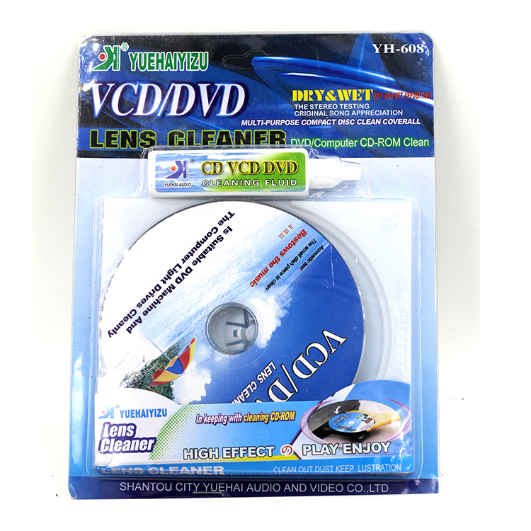 CD DVD Drive Cleaning Disc CD Player DVD Installed Cleaning fluid(China (Mainland))