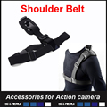 Shoulder Strap Mount for SJCAM SJ4000 Gopro Hero 4 Action Camera Chest Harness Belt For Go
