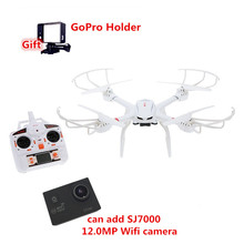 Profession Drones MJX X101 RC Quadcopter 2.4G 6-Axis RC Helicopter can add SJ7000 Camera(FPV) drone with camera VS X8C dron X8W
