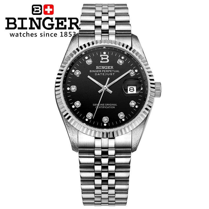 Switzerland Wristwatches BINGER 18K gold watches men self-wind automatic winding mechanical Wristwatches BG-0373-3<br><br>Aliexpress