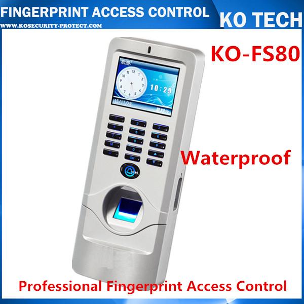 IP65 waterproof Fingerprint and rfid Card Access Control TCP/IP Metal Fingerprint access control with ID Card reader<br><br>Aliexpress