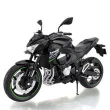 1:12 Emulation Alloy Motorcycle Toys KAWASAKI Z800 Motorbike Model Toys For Collection(China (Mainland))