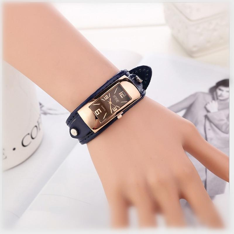 Maxon 2015 Fashion ladies best gifts Women Favorites Rectangular dial  leather Strap Watch women Casual quartz wristwatch Wa051<br><br>Aliexpress
