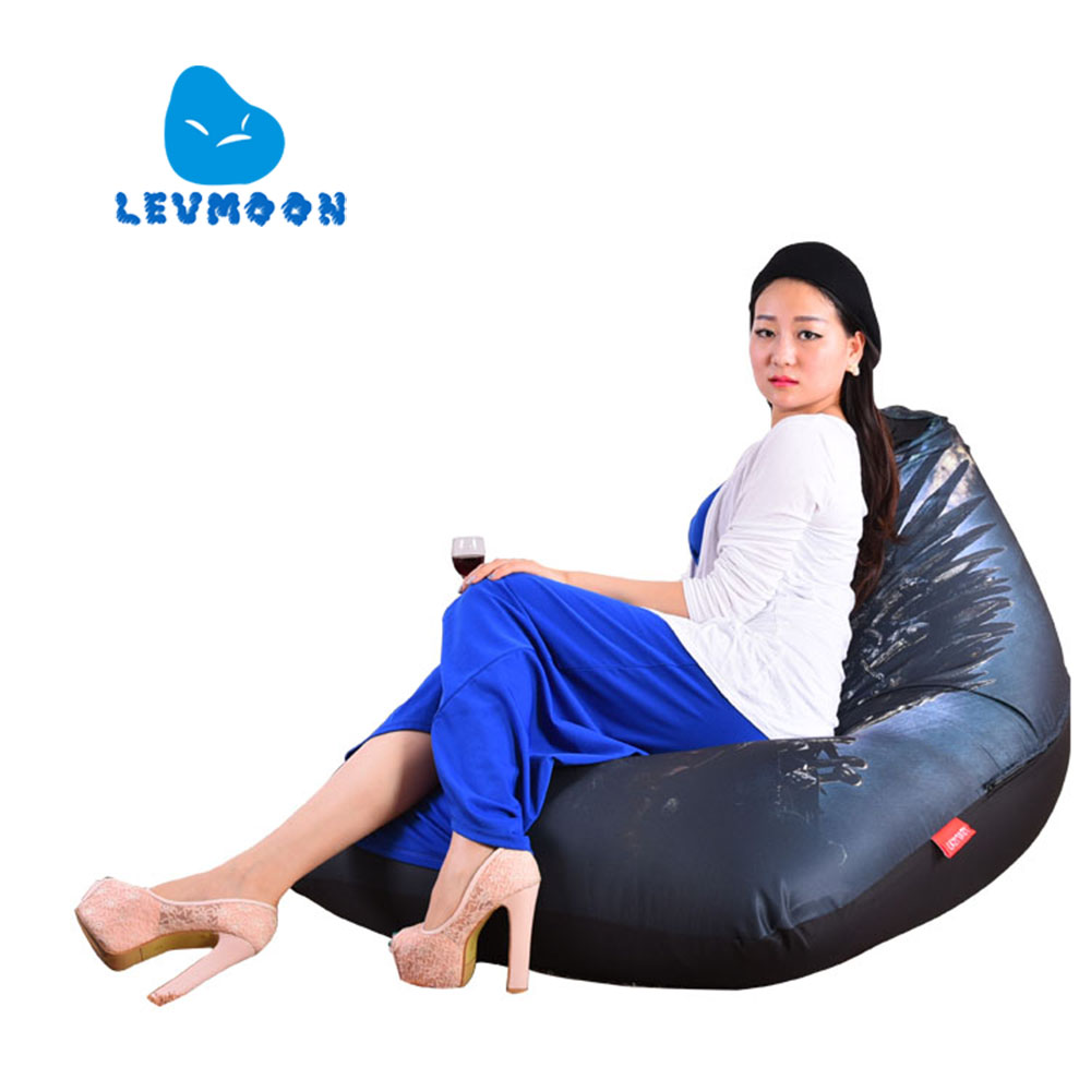 Levmoon Beanbag Sofa Chair A Song Of Ice And Fire Seat Zac Bean Bag Bed Cover Without Filling Indoor Beanbags(China (Mainland))