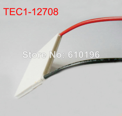3PCS/LOT TEC1-12708 40*40*3.5 12V 8A Thermoelectric Cooler Peltier Plate Module Cooling System(China (Mainland))