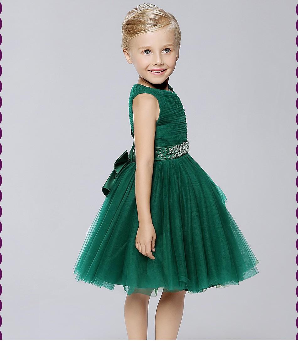 Скидки на Пользовательские 2016 Дети рукавов суд оборудования цветочница свадебное платье детский вечернее платье Принцессы платье принцессы детей