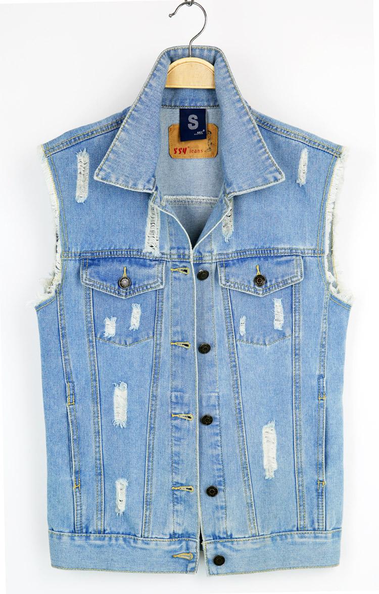 Online Buy Wholesale design denim vest jean from China design