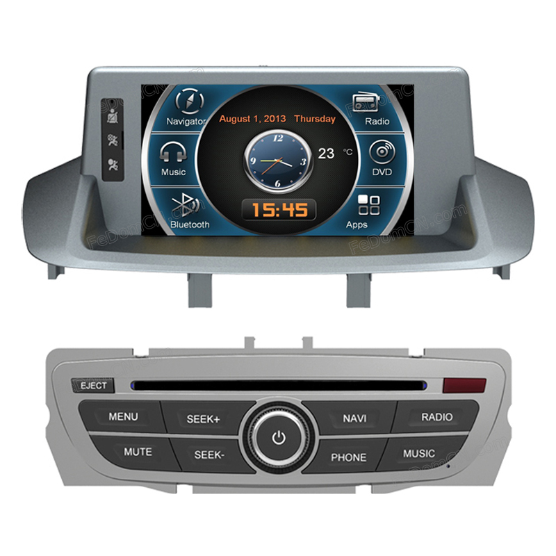0604 Free Shipping Car DVD player Audio GPS Navigation For Renault Fluence(China (Mainland))