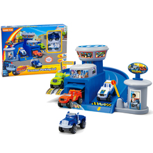 Blaze Monster Machines Kid Parking Toys Vehicle Car Classical Toy Action & Toy Figures Transformation Toy Original Box Kids Gift(China (Mainland))