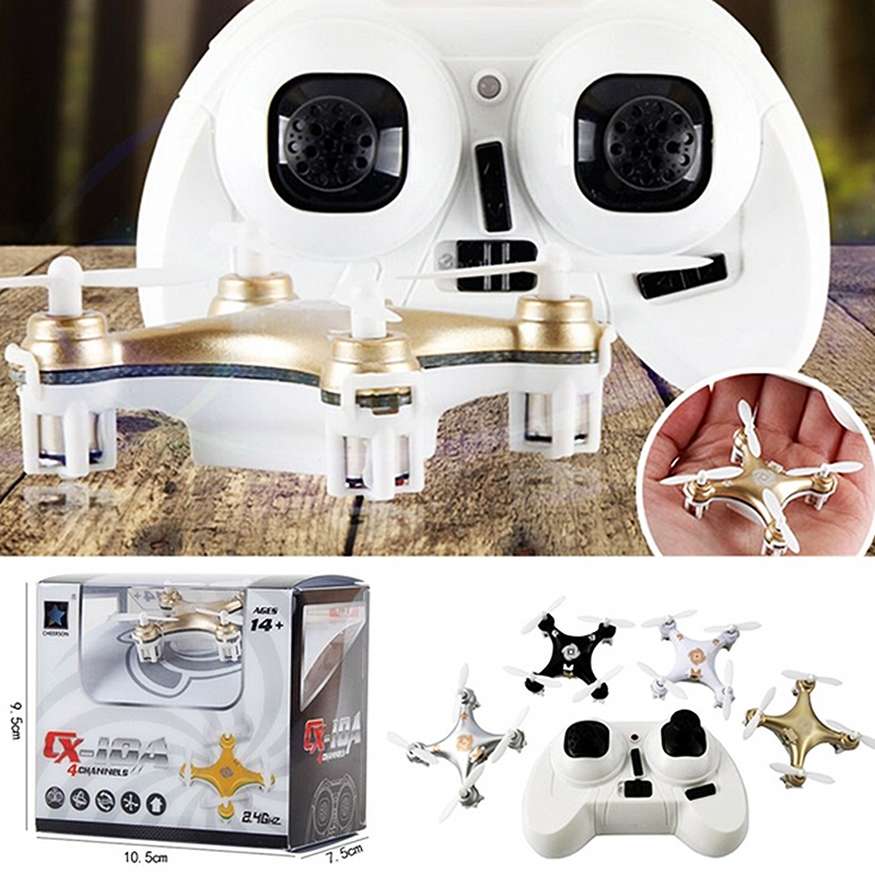 Big Promotion Sales RC Helicopter Cheerson CX 10A RC Quadcopter 4CH 2 4GHz Headless Drone Mode