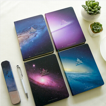 Cute The End Of The Galaxy Notebook Kawaii Diary Memo Notepad Korean Sketchbook School Supplies Stationery<br><br>Aliexpress