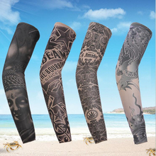 man tattoo arm warmers fasgion venda quente de moda de nova finas Punk UV Tamporary tema tatuagem falsa mangas FREE SHIPPING(China (Mainland))