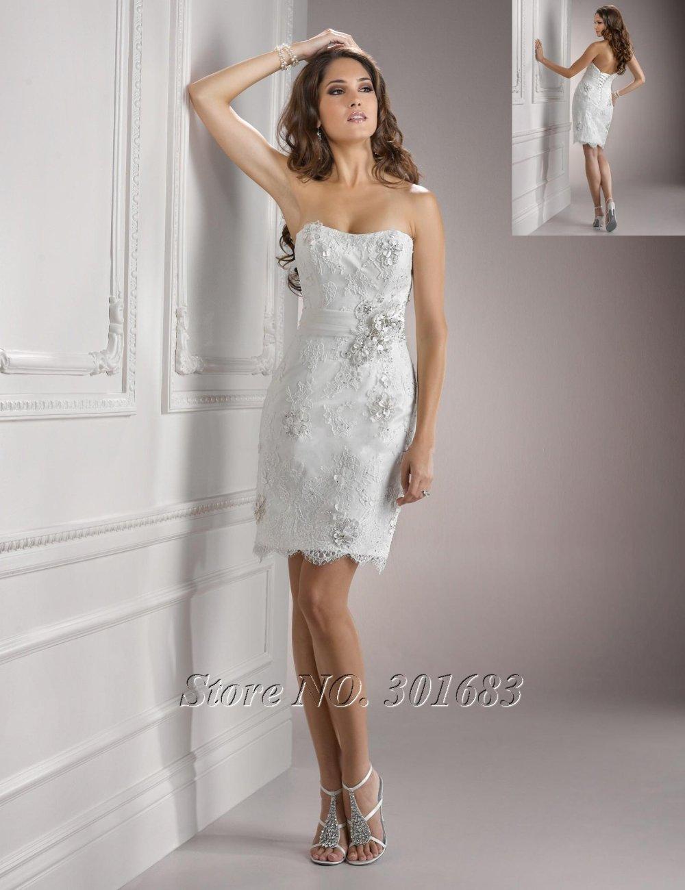 Short Wedding Dress Designers - Ocodea.com