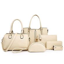 The new European and American fashion embossing mother and child packet shoulder diagonal handbags quality handbag Liu Jiantao(China (Mainland))