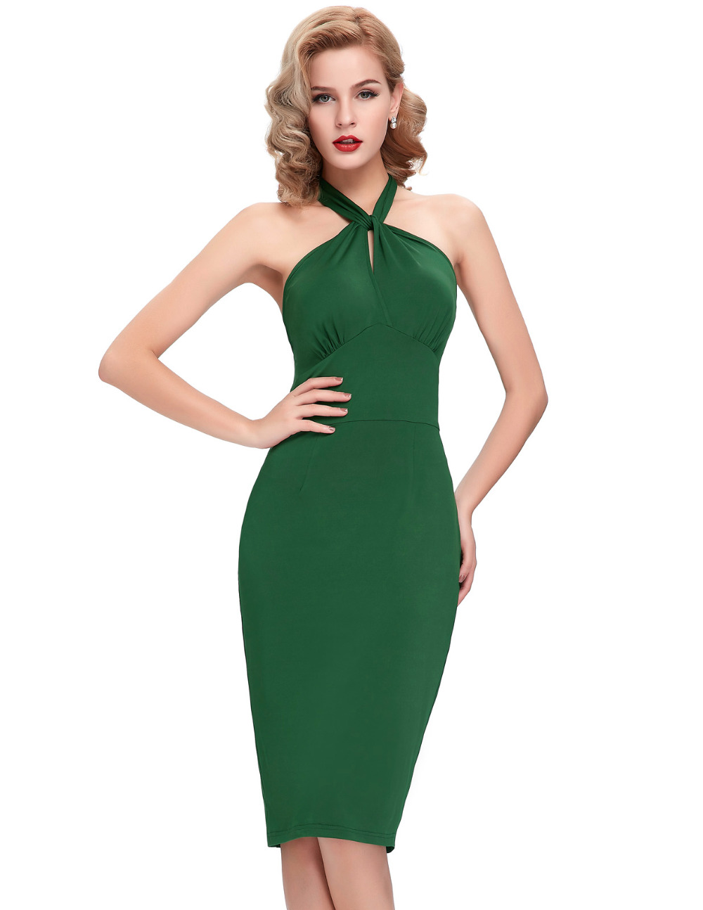 EMERALD GREEN LONG SLEEVE BODYCON DRESS - Wroc?awski Informator Internetowy - Wroc?aw Wroclaw ...