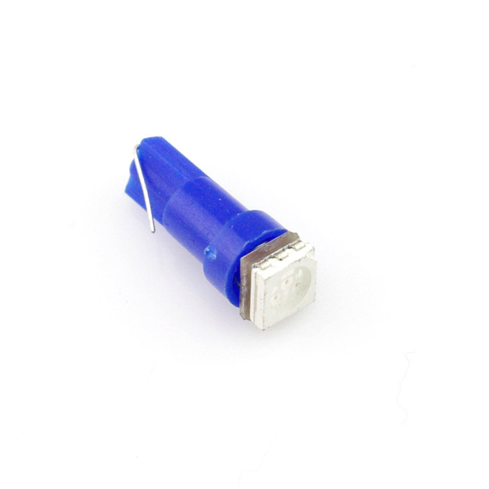 10PCS Green T5 0 14W 9LM 3528 LED Light Bulbs Car 12 14V Lamp parking car