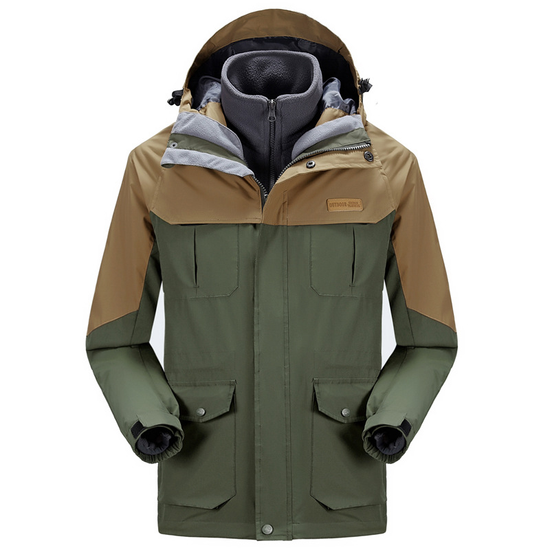Autumn Winter Warm Quick Drying Outdoor Hunting Camping Sports Jacket Coats Windproof Hood Mountaineering Clothes Size L-XXXXL<br><br>Aliexpress