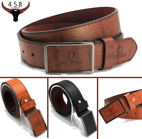 Гаджет  Free shipping Counter genuine New brand  Leather belts for men Luxury fashion jeans Solid buckle belt size 110cm hot sale  None Одежда и аксессуары
