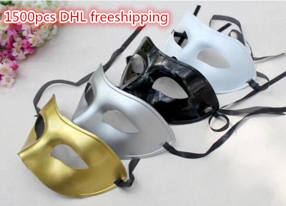 Fashion men women mask Hallowmas Venetian masquerade Christmas Day half face masks dance party wedding mask(China (Mainland))